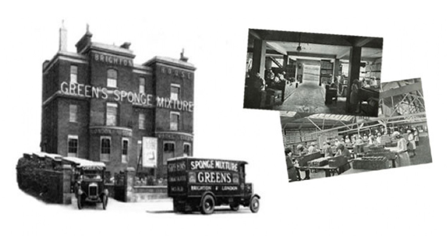 Greens Cakes Factory Old Images