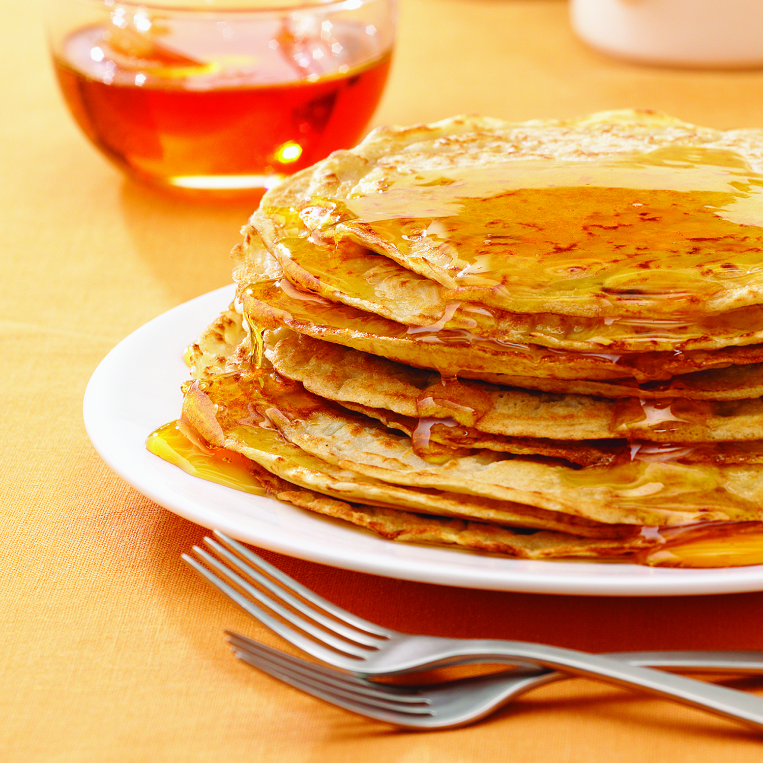 Pancakes with Golden Syrup