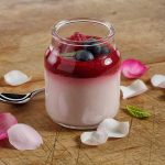 Berry Jelly Panna Cottas