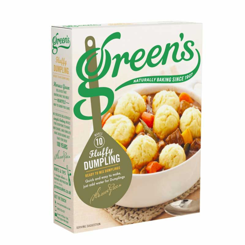Greens Cakes Dumplings Mix
