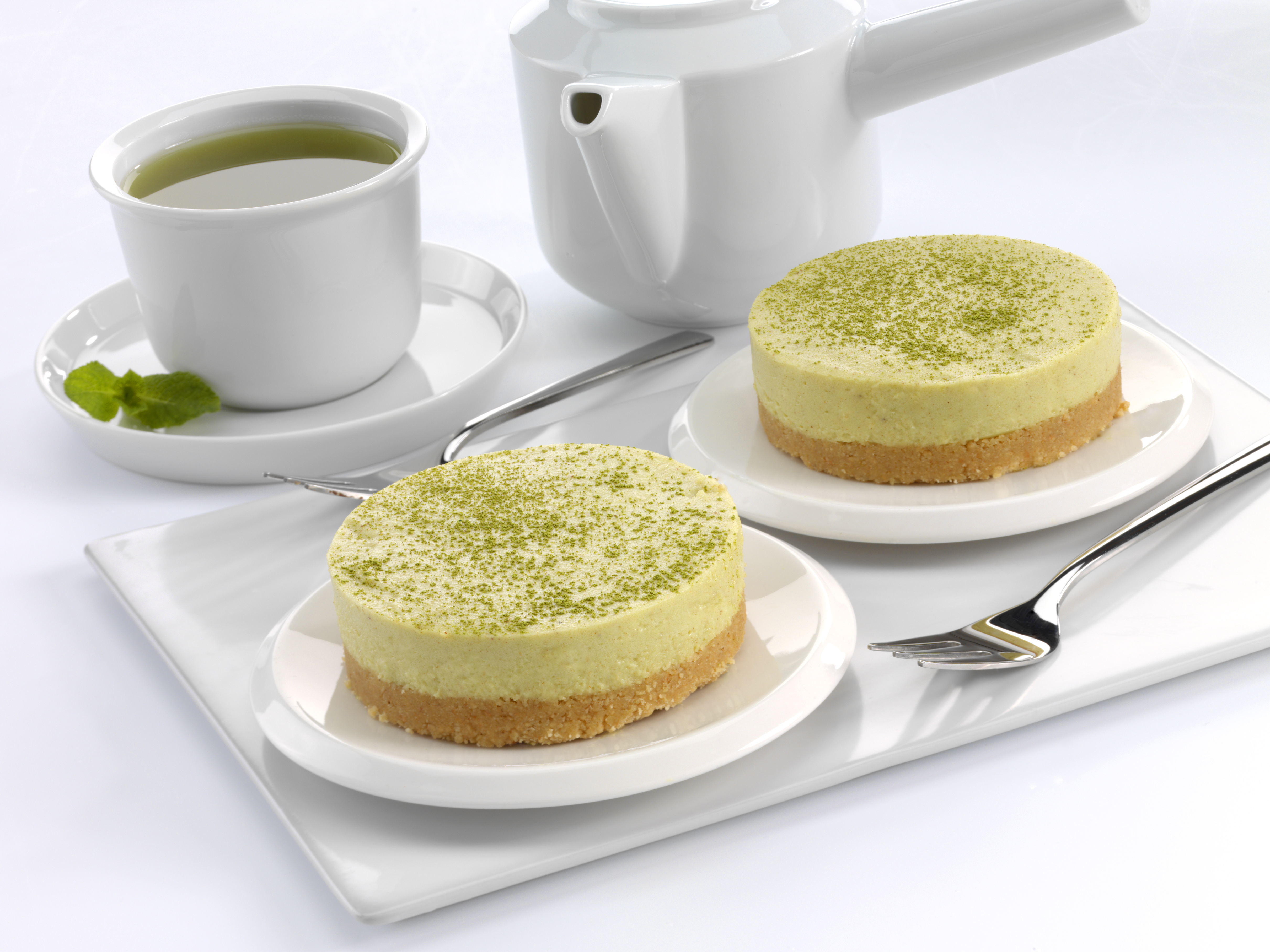 Mini Matcha Cheesecake Recipes
