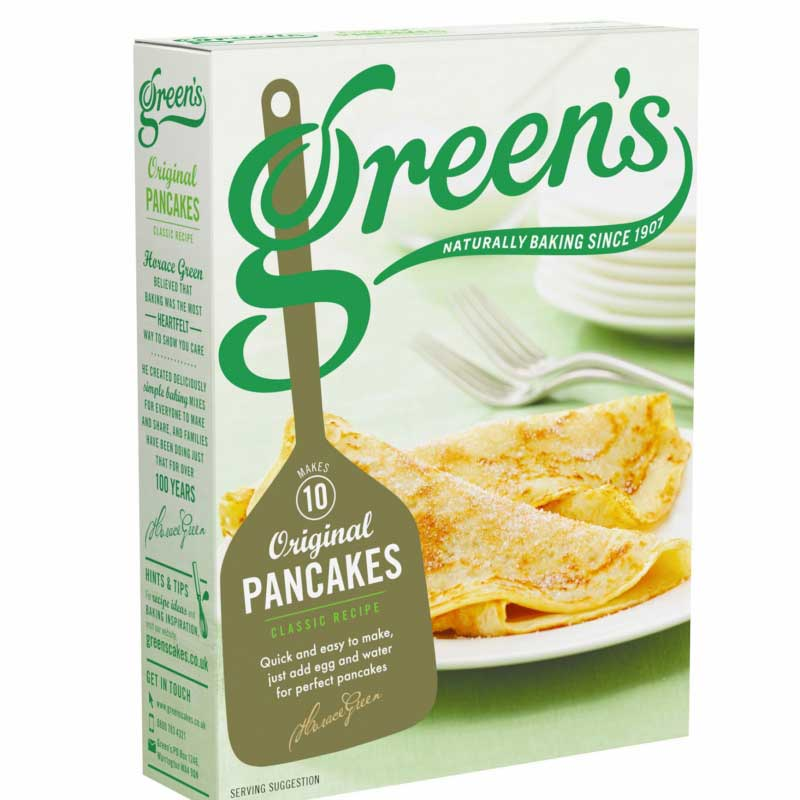 Pancakes Mix Greens Cakes
