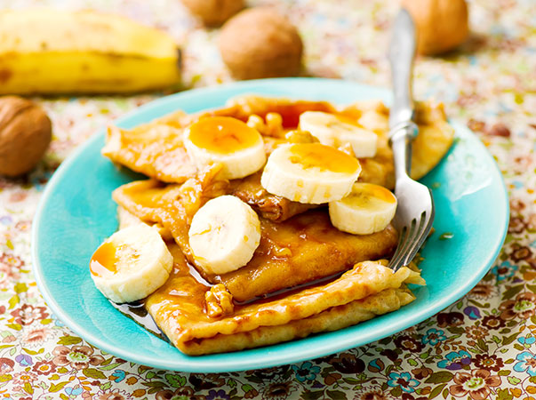 Banana and Cinnamon Pancakes