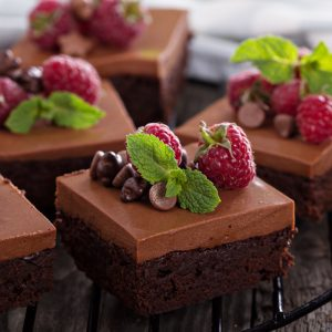 Brownie & Mousse Cake