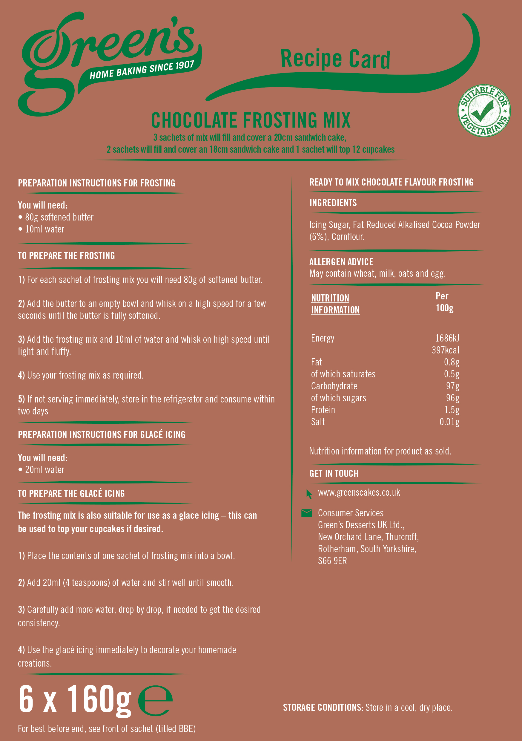 OTH057 1kg Chocolate Cake & Frosting Recipe Leaflet-2