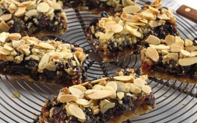 Fruity Crumble Slices